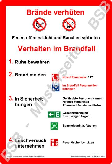 BSB-Brandschutzordnung-Teil-A